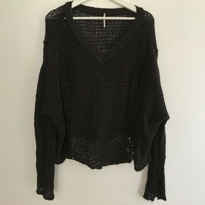 Free People Size Medium Knitted Sweater Women